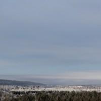 Pakkaspäivä Rovaniemellä