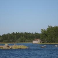 Näkymä Vargikselta Björköreniin Mustasaaressa