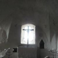 Olavinlinnan kappelissa