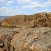 Fäbodan kallioilla