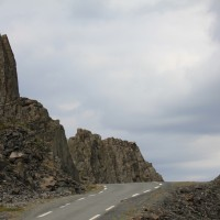 Vardön ja Hamningbergin välillä Norjassa
