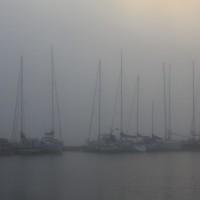 Laivat sumussa retr