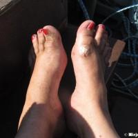 Uupuneet jalat retr