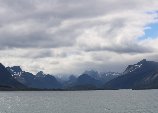 Lofootit Moskenesøya Klerkfjorden
